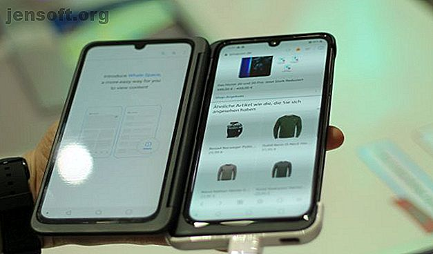 फोल्डेबल फोन पर भरोसा न करें, फिर भी?  एलजी के दोहरे स्क्रीन समाधान पर एक नजर है।  हमने नए एलजी जी 8 एक्स थिनक्यू डुअल स्क्रीन पर एक नज़र डाली।