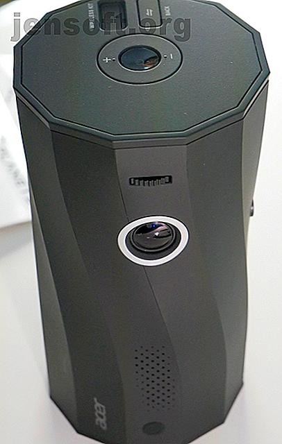 Acer ha annunciato un proiettore e un altoparlante a LED all'IFA 2019. Ti consente di visualizzare i contenuti multimediali dal tuo telefono in qualsiasi angolazione, ovunque.