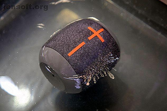 El Wonderboom 2 es un altavoz Bluetooth resistente con un potente sonido 360, hasta 13 horas de reproducción y una opción de emparejamiento estéreo.