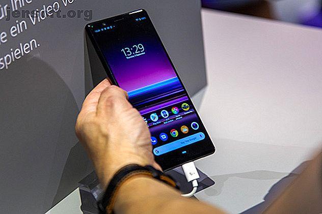 El último teléfono de Sony es un monstruo ultra ancho.  Con Android 9 y su lanzamiento en septiembre, hay mucho potencial aquí.