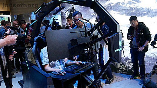 La silla de juego Thronos Air cuenta con tres pantallas curvas, retroalimentación háptica, controles motorizados y una característica que nunca adivinará.