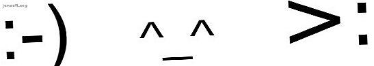 Du vet vad ett uttryckssymbol är, men vad sägs om en emoji?  Trodde de att de var desamma?  Så här delar du emot uttryckssymboler och emoji.