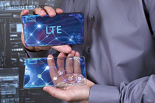 Bör din nästa telefon vara LTE eller 4G?  Kanske 5G?  Lär dig vilket mobilt bredband som är snabbast och jämför LTE.  vs 4G.  vs 5G.