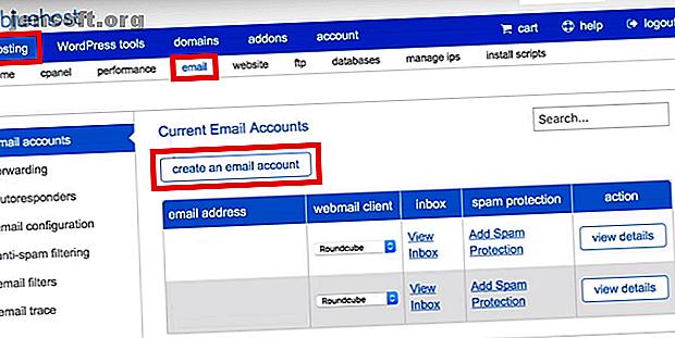 ब्लूहोस्ट वेबमेल के साथ आरंभ करने के लिए हमारा गाइड आपको एक ईमेल पता बनाने और इसे जीमेल से लिंक करने के माध्यम से चलेगा।