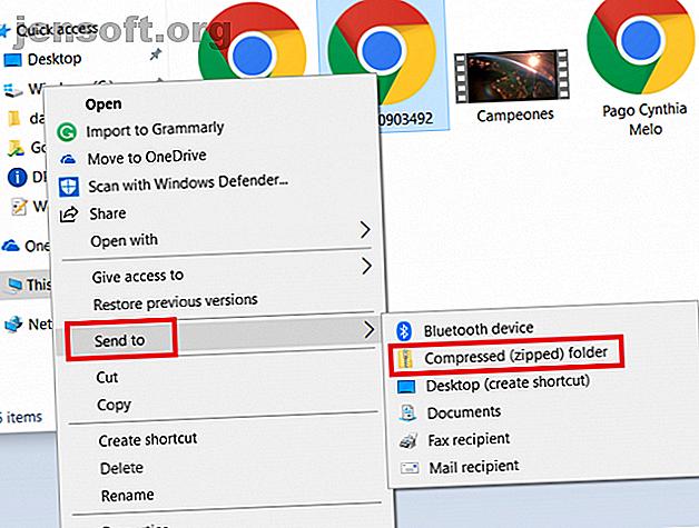 Besoin d'envoyer un fichier vidéo volumineux mais il continue à être arrêté ou renvoyé?  Voici comment envoyer de grandes vidéos depuis votre téléphone ou votre PC.