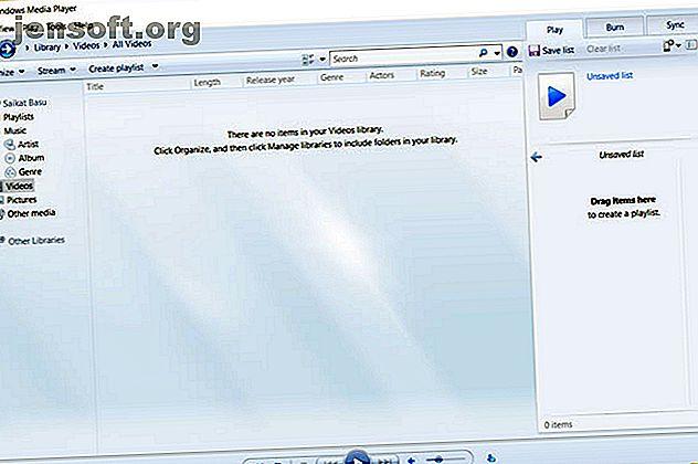 Pourquoi Windows Media Player n'affiche-t-il pas les sous-titres?  Voici comment ajouter correctement des sous-titres au lecteur Windows Media.