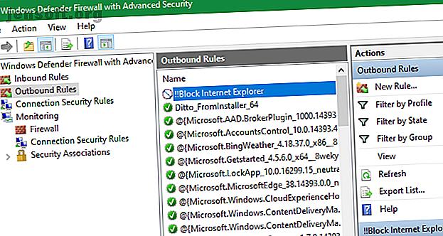 Vous vous demandez comment désactiver Internet Explorer?  Voici comment empêcher Internet Explorer d'accéder à Internet et le supprimer.