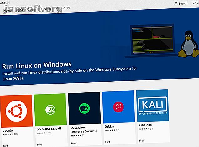 Vous voulez exécuter Linux sur votre PC Windows?  Voici comment exécuter un poste de travail Linux dans Windows à l'aide du sous-système Windows pour Linux.