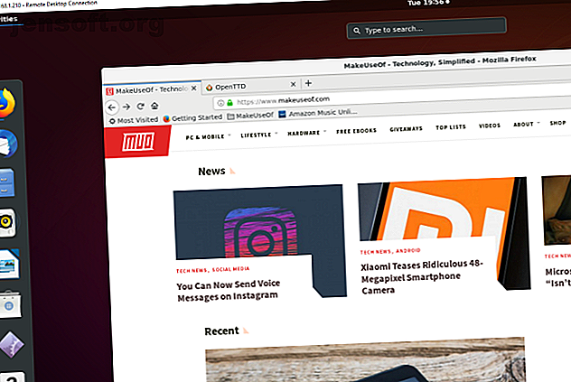 Vous souhaitez accéder à distance à votre ordinateur personnel Ubuntu depuis un autre emplacement?  Voici comment accéder à distance à Ubuntu à partir de Windows.