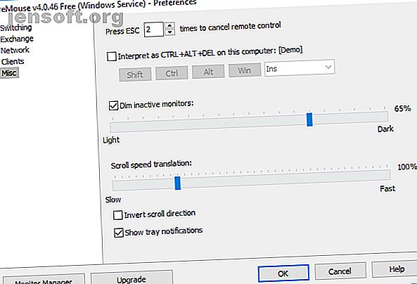 Si vous avez plusieurs ordinateurs, un commutateur KVM peut augmenter votre productivité.  Voici comment utiliser un logiciel KVM pour configurer votre système multi-PC.