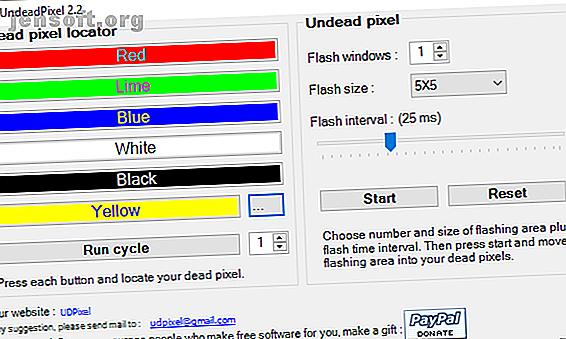 Un pixel mort ou bloqué sur votre écran peut être ennuyeux.  Voici les meilleurs moyens de tester votre écran et de réparer les pixels morts.