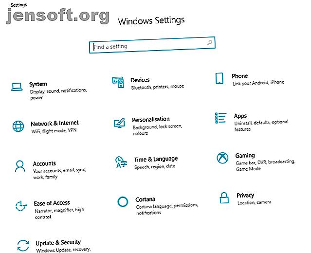 Connaissez-vous votre chemin dans l'application Paramètres dans Windows 10?  Voici tout ce que vous devez savoir.