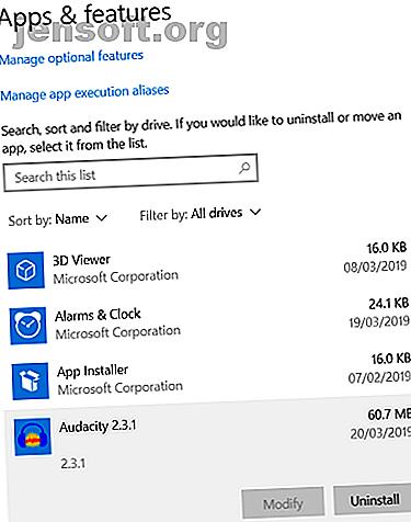 Parfois, les installateurs par défaut de Windows ne suffisent pas.  Il existe d'autres moyens de supprimer rapidement les programmes et les applications Windows.