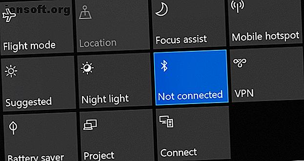 Cela peut être frustrant quand Bluetooth ne fonctionne pas.  Ces conseils vous aideront à résoudre tous les problèmes de couplage Bluetooth sous Windows 10.