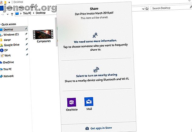 फ़ाइलों और फ़ोल्डरों को अन्य लोगों के साथ साझा करने के बहुत सारे तरीके हैं।  क्या आपने विंडोज एक्सप्लोरर को फाइल शेयरिंग टूल माना है?