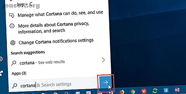 Du kan tilpasse utseendet og oppførselen til Cortana.  Her er flere måter å gjøre nettopp det.