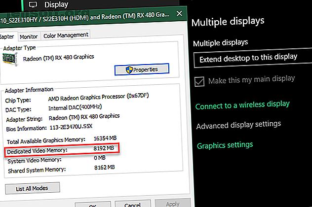 ¿Se pregunta qué RAM de video dedicada es, cuánta VRAM tiene o cómo aumentar la VRAM?  Aquí hay una guía completa.