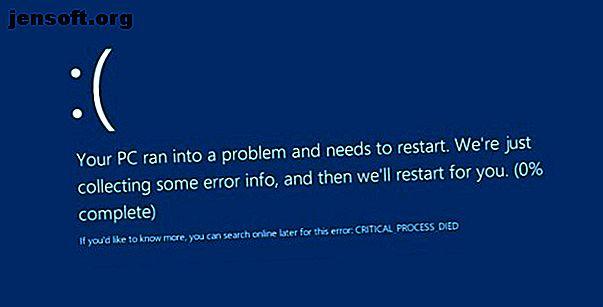 """Le code d'arrêt """"processus critique mort"""" est l'un des éléments les plus indésirables pour un utilisateur Windows.  Corrigez-le avec ces étapes de dépannage."""