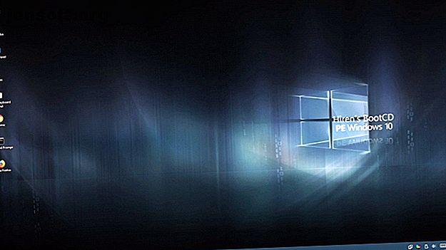 Avez-vous un disque de secours du système Windows à proximité?  Dans le cas contraire, envisagez de créer un disque PE (Windows Preinstallation Environment) dès aujourd'hui.